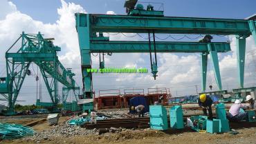 cổng trục dầm đôi từ 5 tấn đến 70 tấn tin tưởng