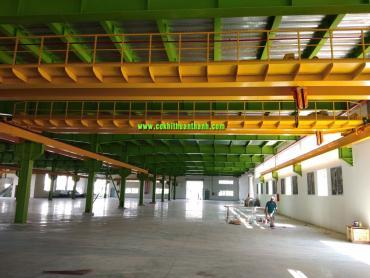 cầu trục dầm đôi 10 tấn và Cổng trục dầm đôi 20 tấn chuẩn