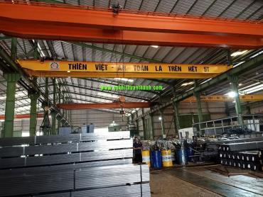 cầu trục dầm đôi từ 5 tấn đến 10 tấn chuẩn tốt