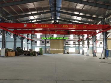 cầu trục dầm đôi từ 5 tấn đến 10 tấnchi phí rẻ
